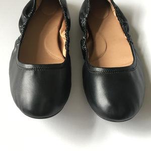 Calvin Klein 'Preila' Black Ballerina Flats